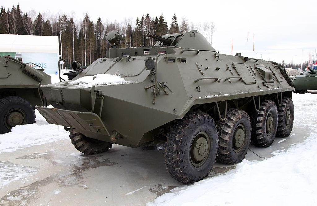 БТР-60ПБК в парке «Патриот»