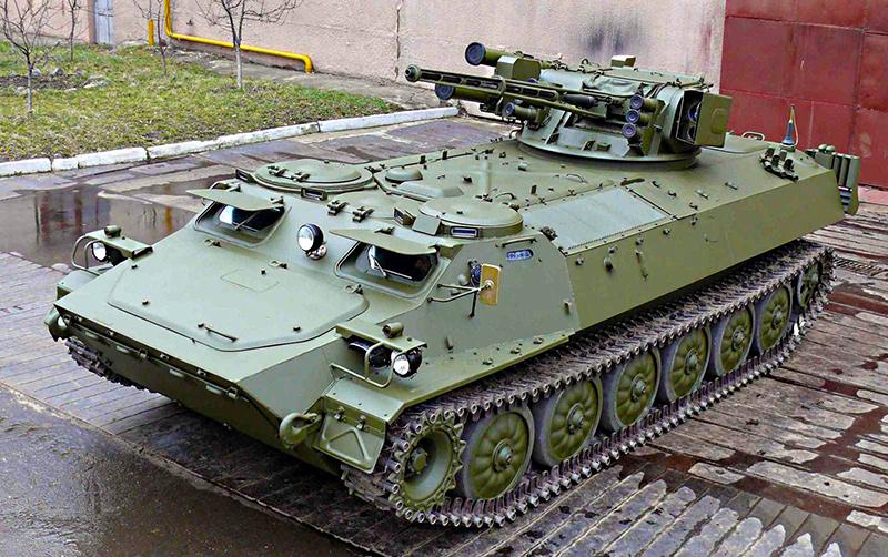 МТ-ЛБМШ — украинский БМП на шасси МТ-ЛБ с боевым модулем «Шквал»