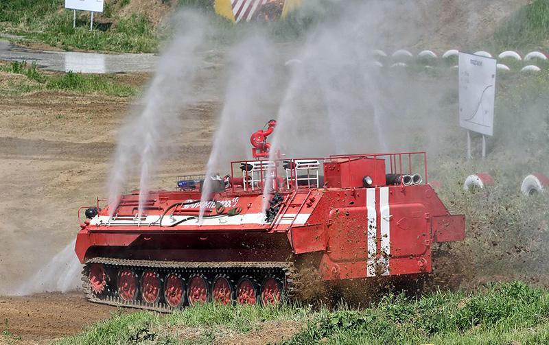 Пожарная машина МТ-ЛБу-ГПМ-10