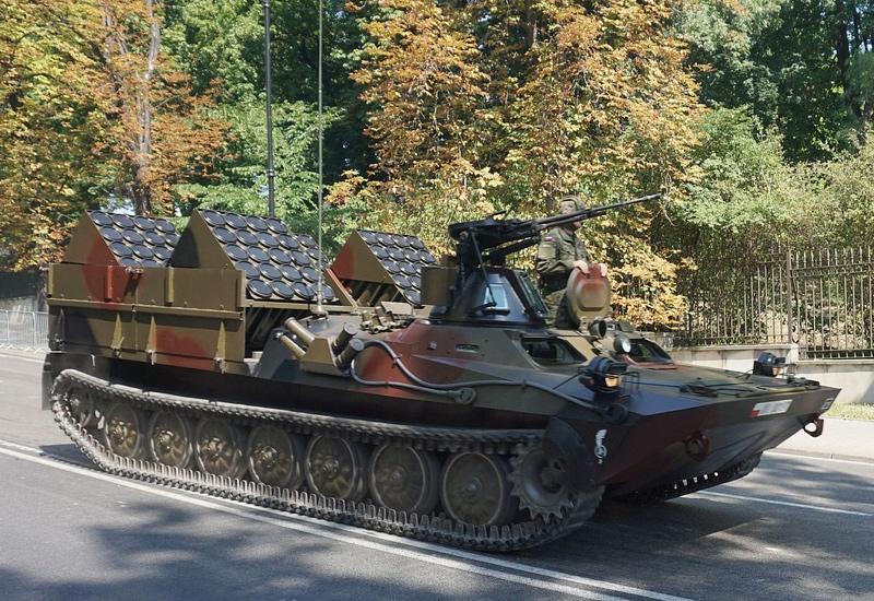 Польский самоходный минный заградитель ISM Kroton на базе гусеничного бронетранспортера Opal II