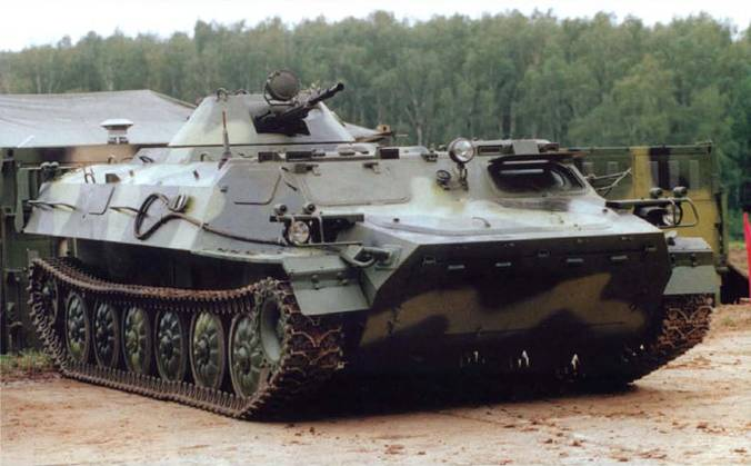 Объект 6МА — вариант МТ-ЛБМ с башенной установкой, соответствующей бронетранспортёру БТР-80