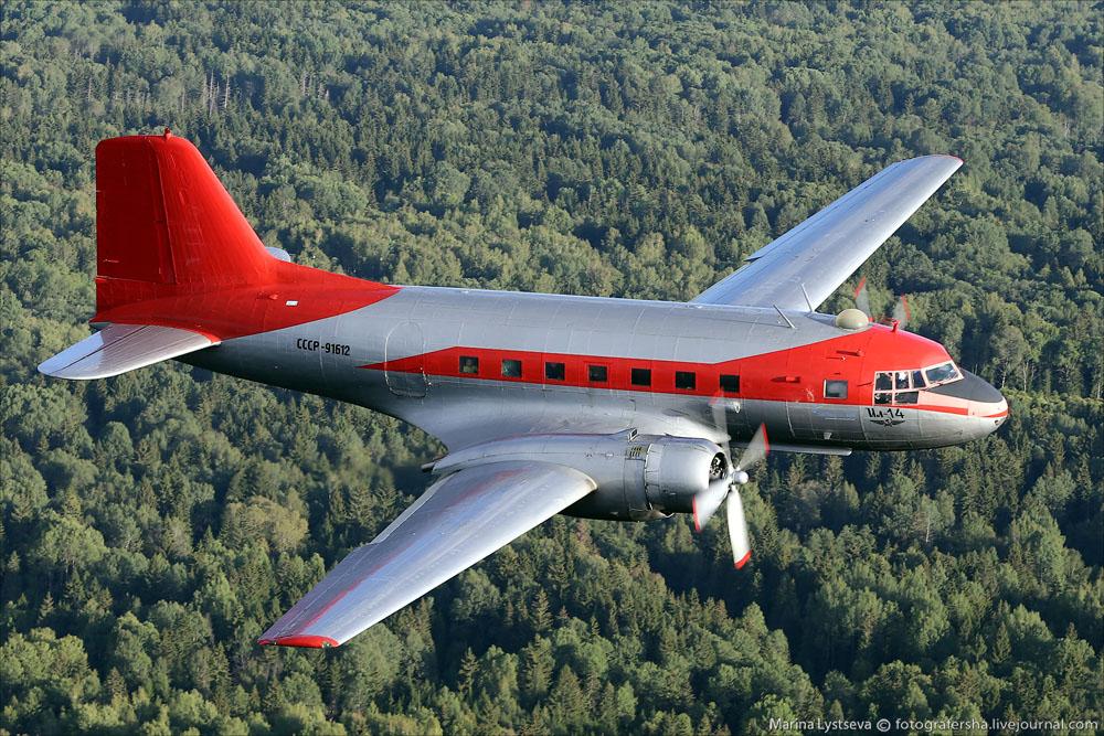 Ил-14 - пассажирский самолет