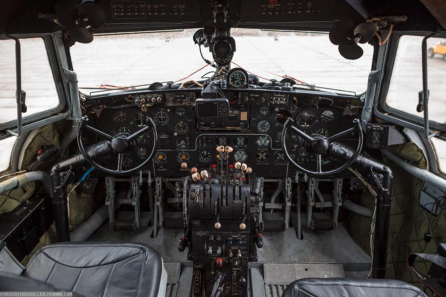 Кабина Ил-14