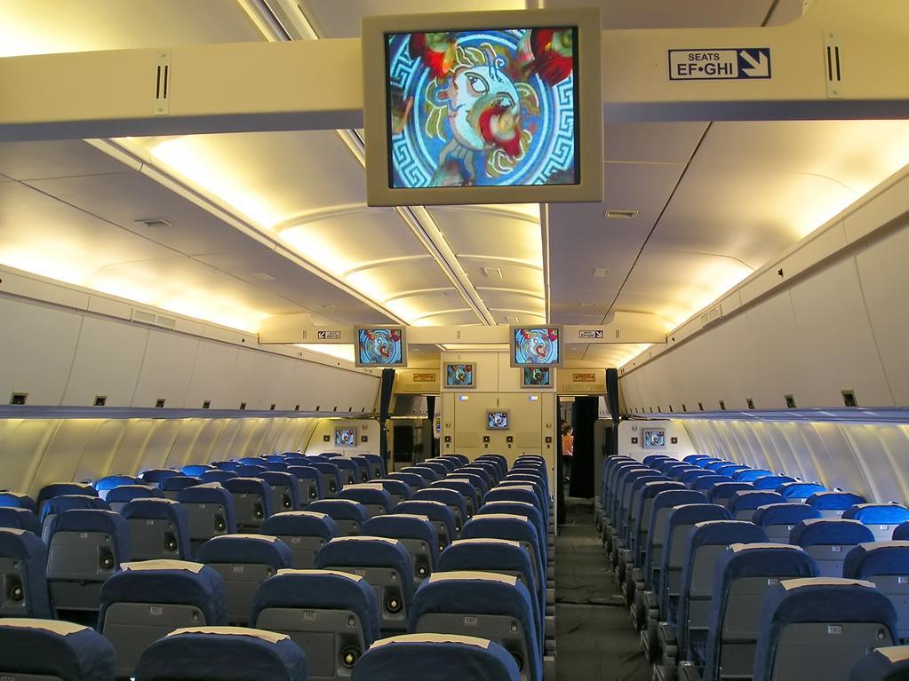 Внутри Ил-96