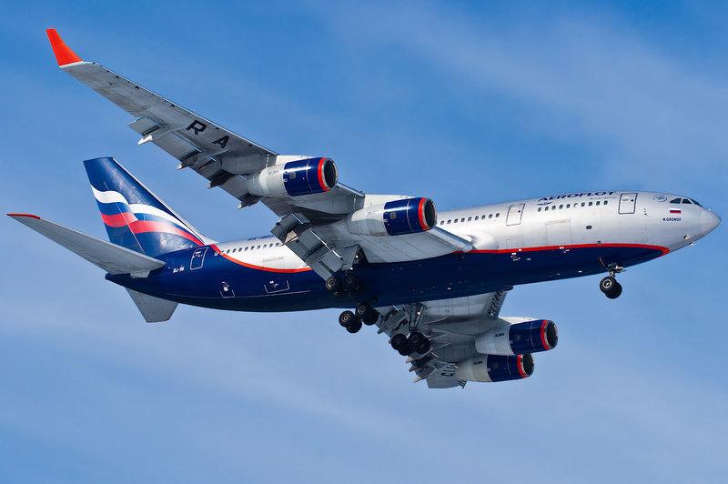 Ил-96 - пассажирский самолет