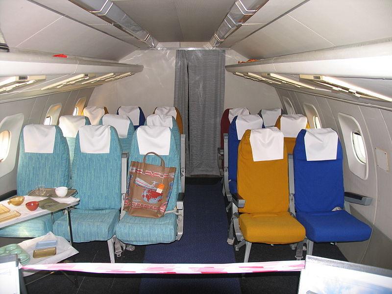Салон туристского класса Ту-144