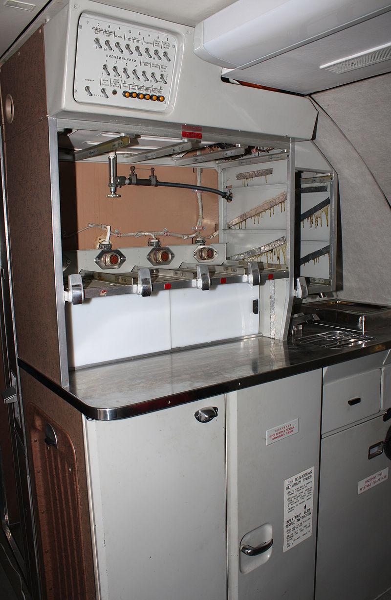 Кухонный блок Ту-144