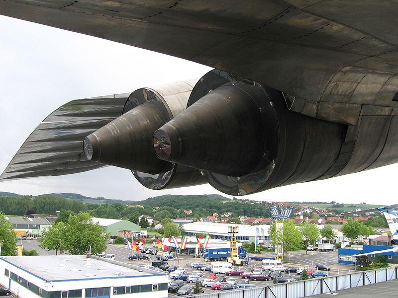 Двигатели Ту-144