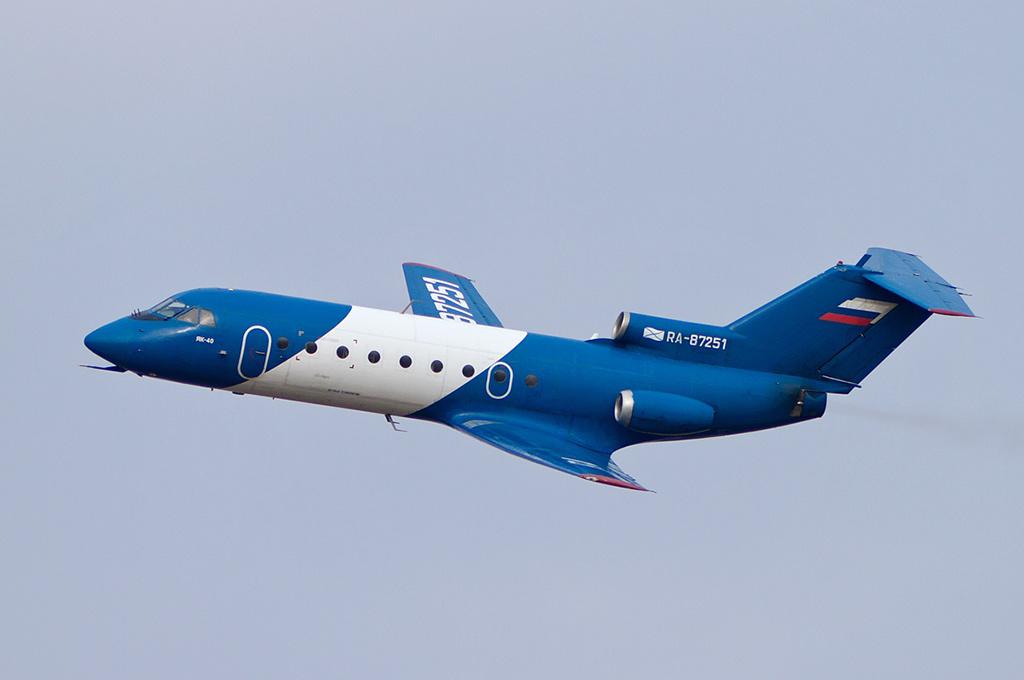 Як-40 - пассажирский самолет
