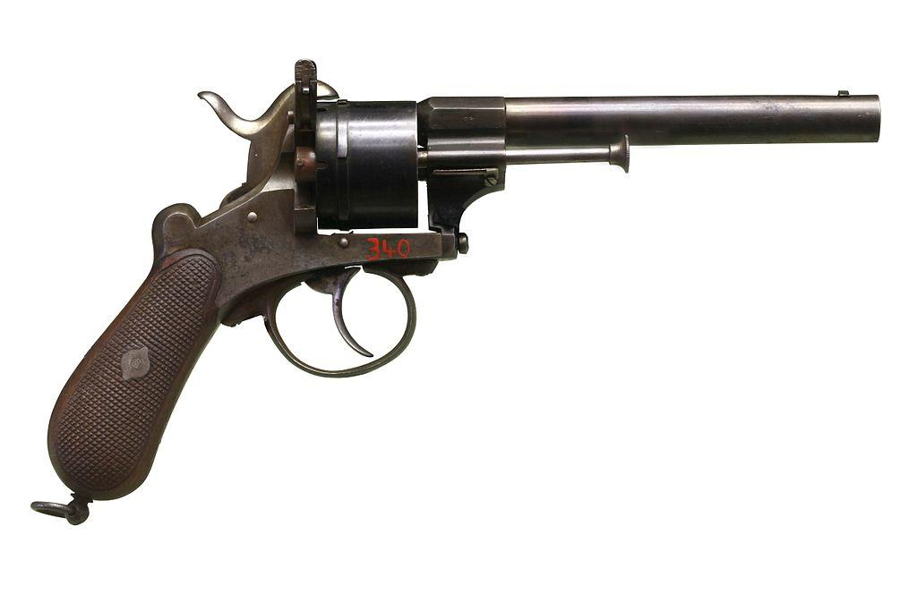 Шпилечный револьвер системы Лефоше образца 1858 г.