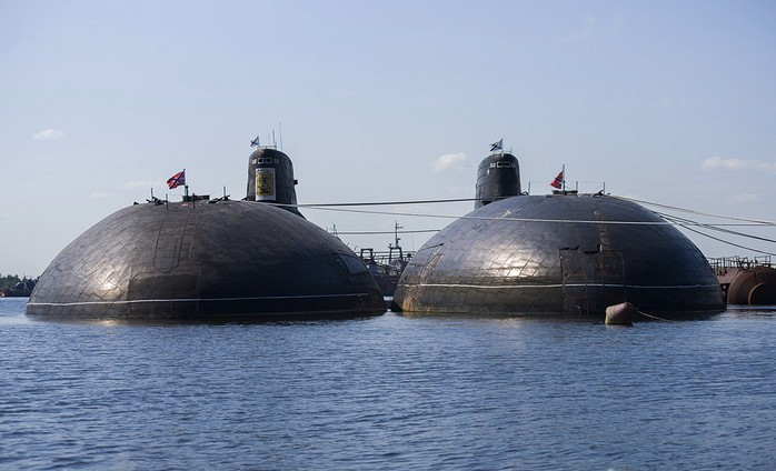 Фото подводных лодок проекта 941 «Акула»