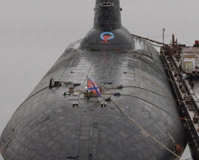 ТРПКСН ТК-20 «Северсталь» проекта 941 «Акула». Шестая подлодка из этой серии.