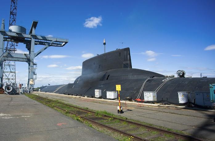 ТРПКСН ТК-208 «Дмитрий Донской» проекта 941 «Акула». Первая подводная лодка из этой серии.