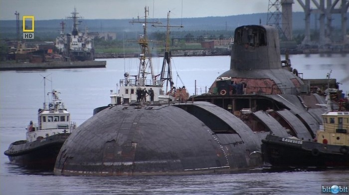 ТРПКСН ТК-13 проекта 941 «Акула». Четвертая подводная лодка серии на утилизации