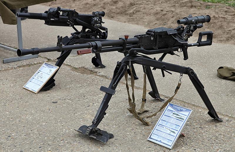 НСВ-12,7 «Утёс» - крупнокалиберный пулемет