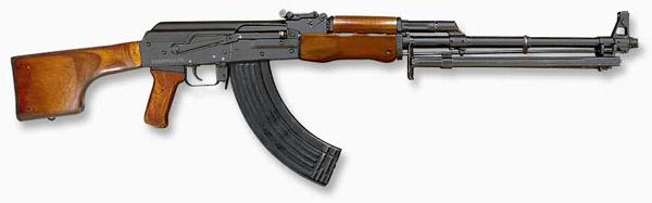 Ручной пулемет Калашникова РПК, калибр 7,62 мм
