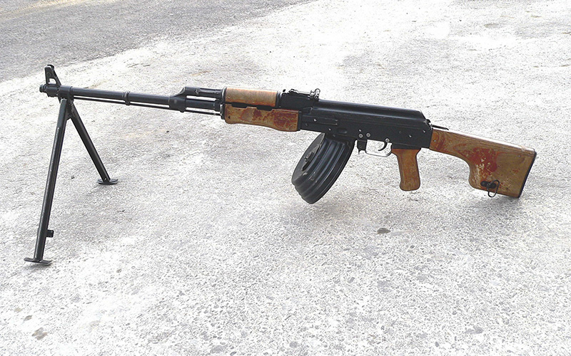 РПК - ручной пулемет Калашникова 7,62-мм