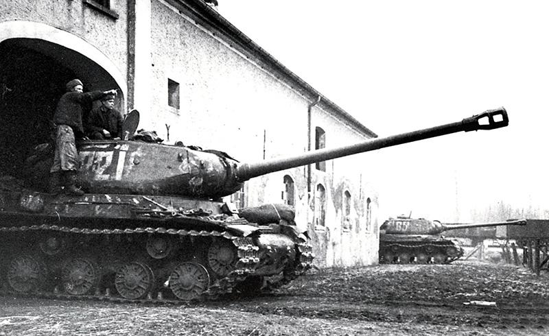 ИС-2 в засаде. 1-й Белорусский фронт