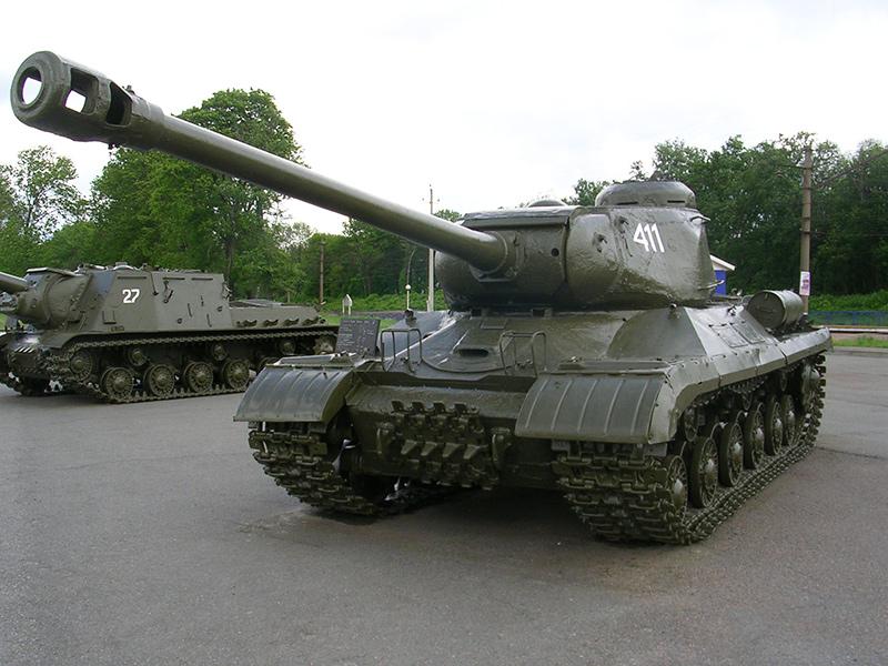 ИС-2 - тяжелый советский танк