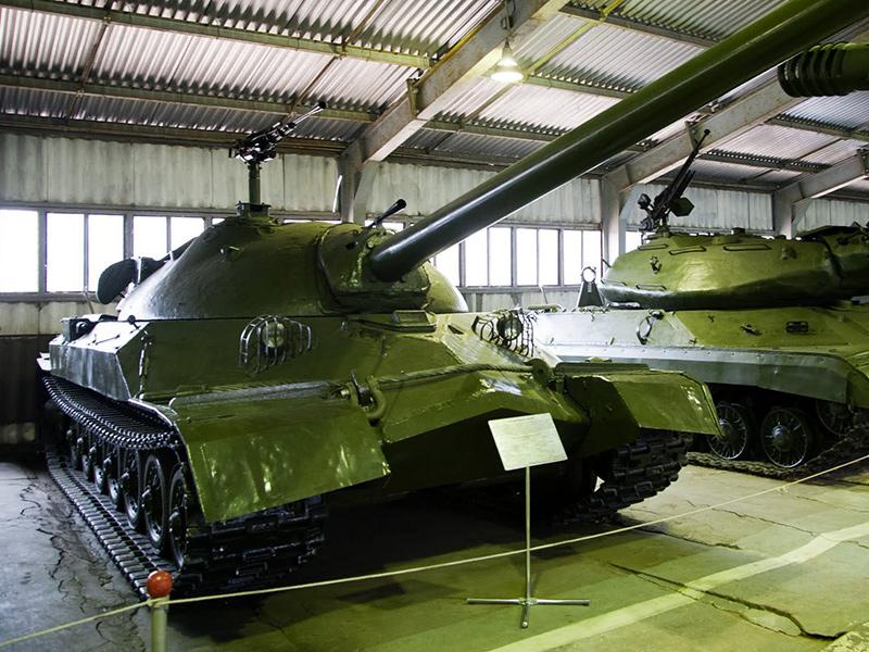 ИС-7 в Бронетанковом музее в г. Кубинка