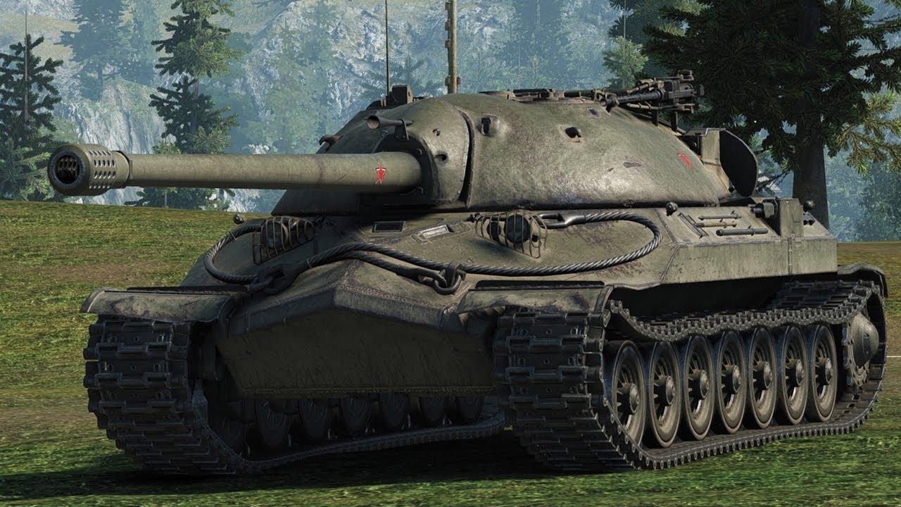 ИС-7 - тяжелый советский танк