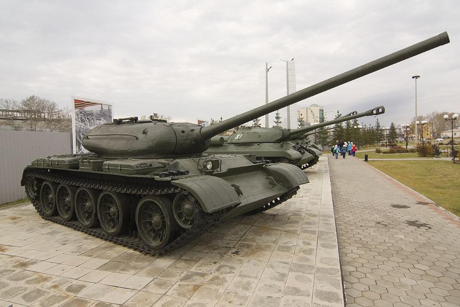 Т-54 обр. 46 года в музее в Верхней Пышме (Россия)