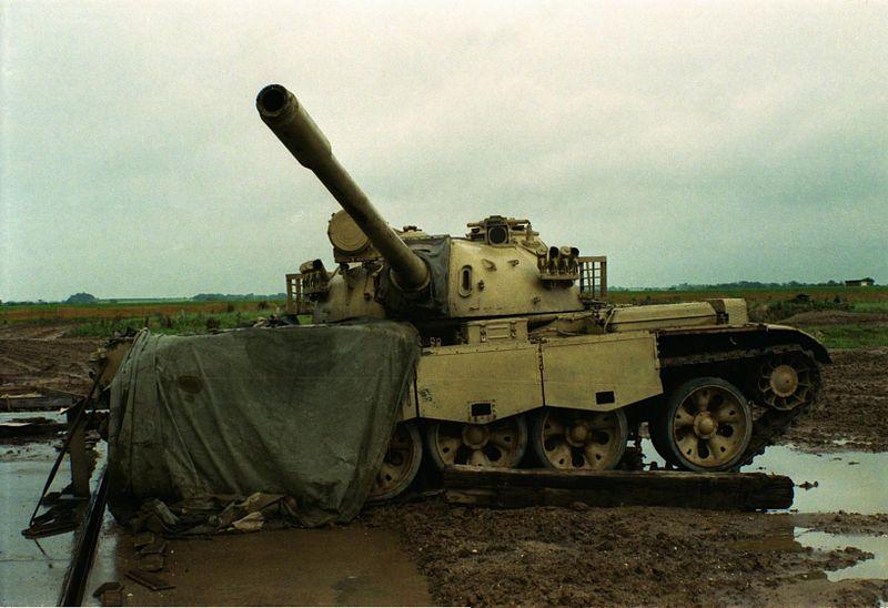 Модернизированный Т-54А