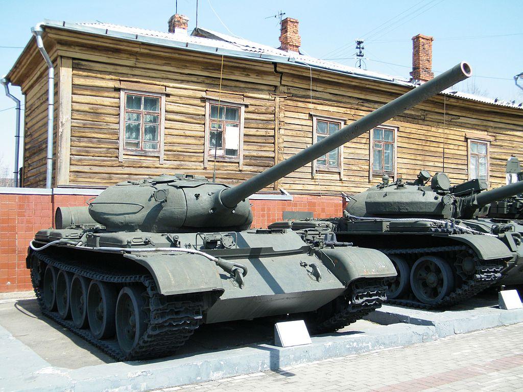 Т-54-1 в Хабаровском военном музее