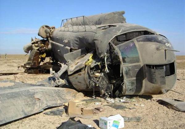 Сбитый CH-47 Чинук
