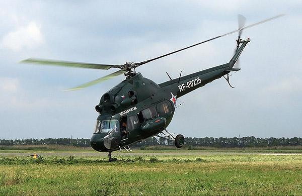 Советский вертолет Ми-2