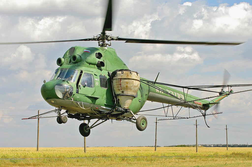 Ми-2 - многоцелевой вертолет