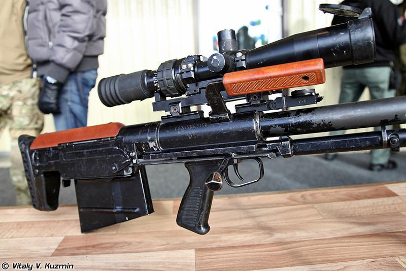 КСВК/АСВК Корд 6В7- 12,7-мм крупнокалиберная снайперская винтовка