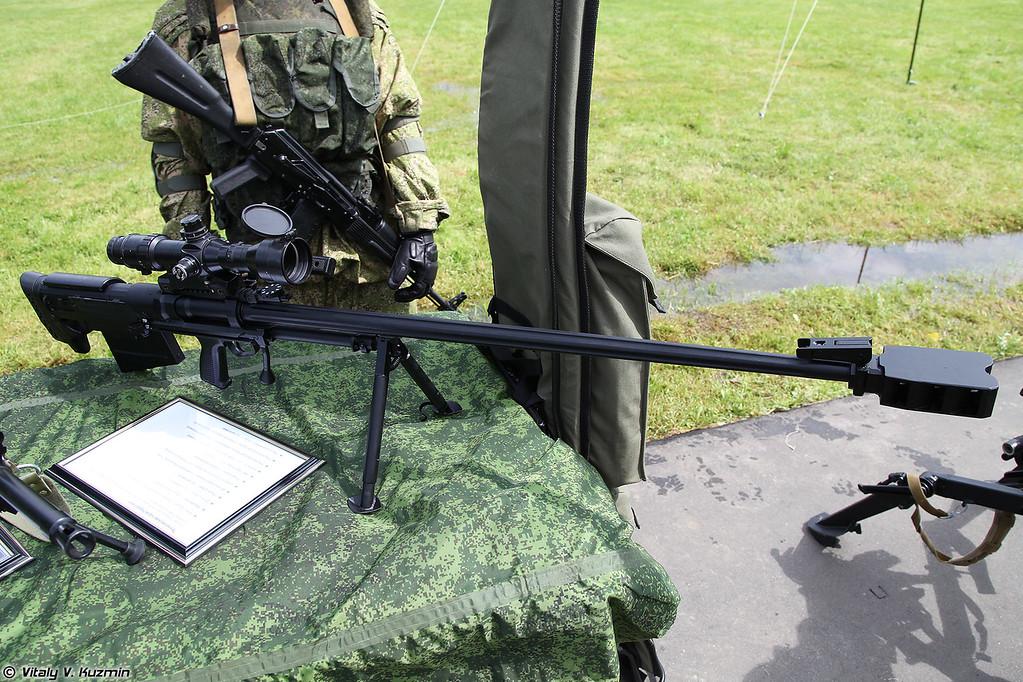 АСВК Корд-М 6В7М - модернизированная крупнокалиберная снайперская винтовка
