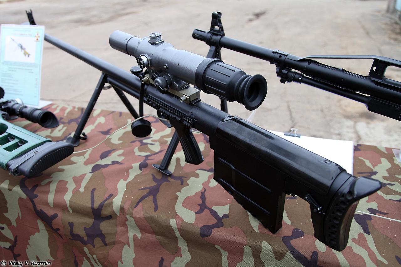 АСВК Корд - армейская снайперская винтовка крупнокалиберная 12,7 мм