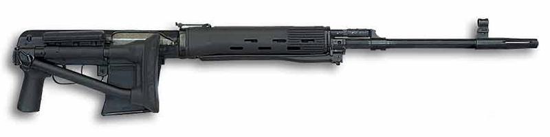 СВДК - снайперская крупнокалиберная винтовка 9,3-мм