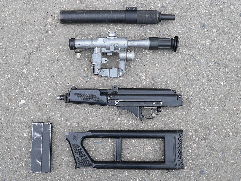 Неполная разборка ВСК-94