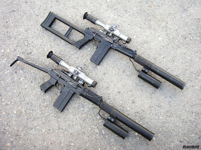 Винтовка ВСК-94 и автомат 9А-91