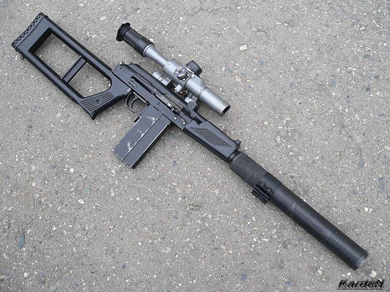 ВСК-94 - снайперская винтовка 9 мм
