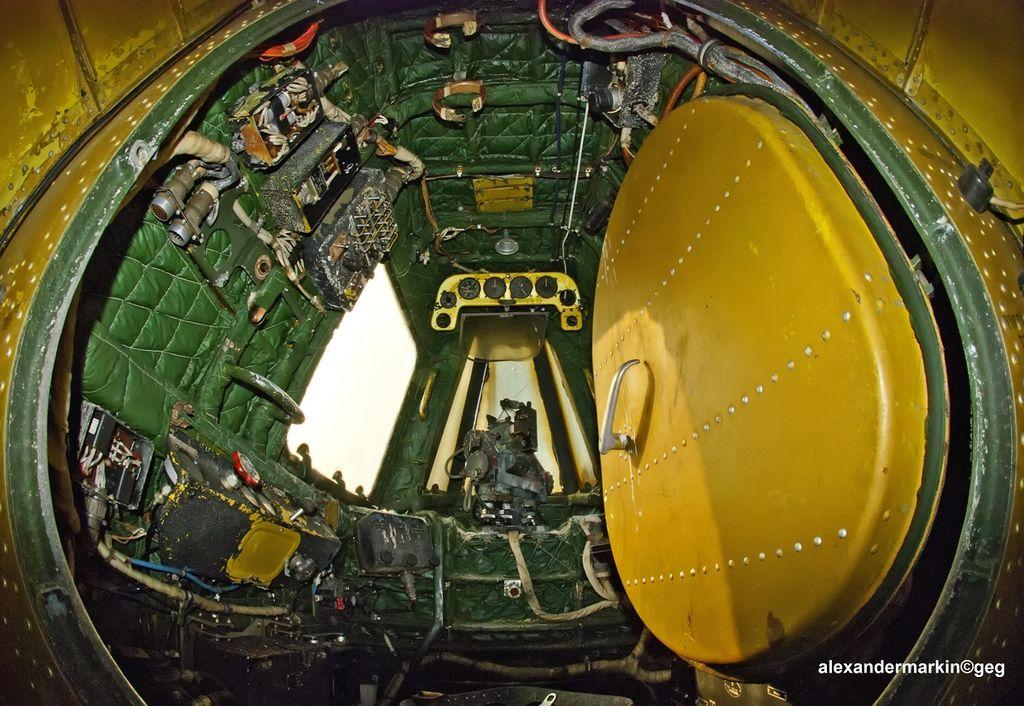 Кормовая кабина Ан-12