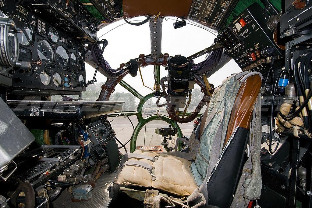 Рабочее место штурмана Ан-12