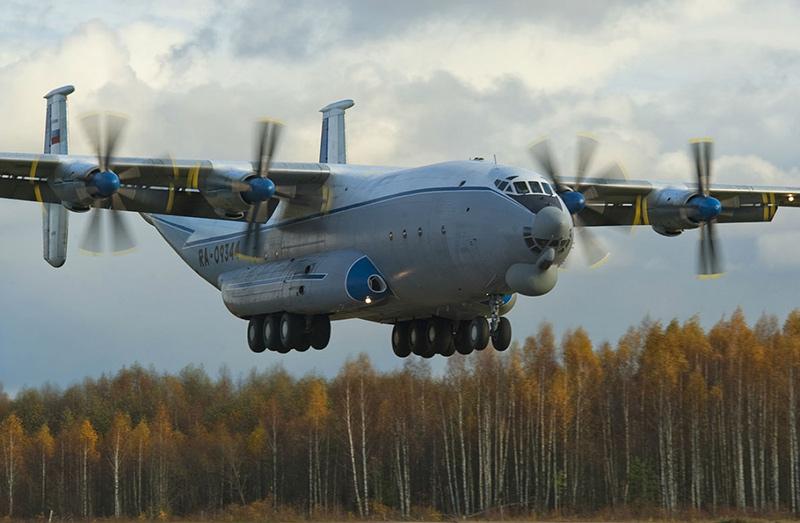 Ан-22 «Антей» - транспортный самолет