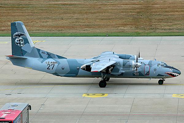 Ан-26 - военно-транспортный самолет