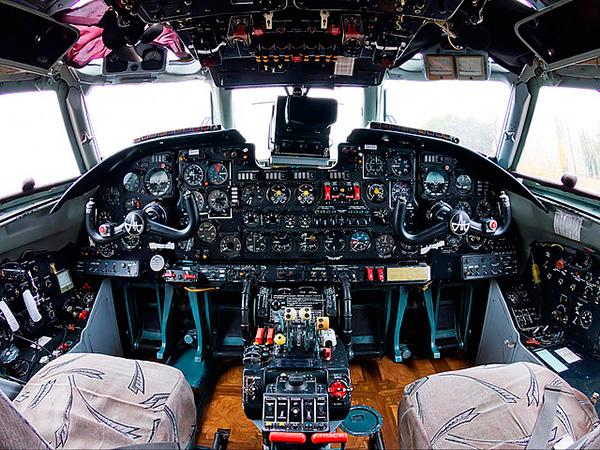 Кабина Ан-26Б