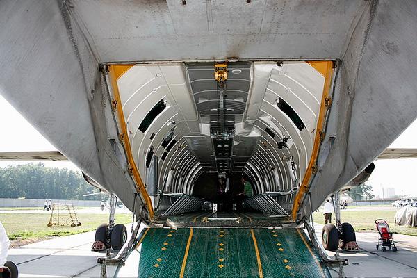 Задняя аппарель Ан-26