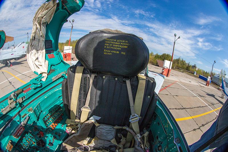Катапультное кресло МиГ-21