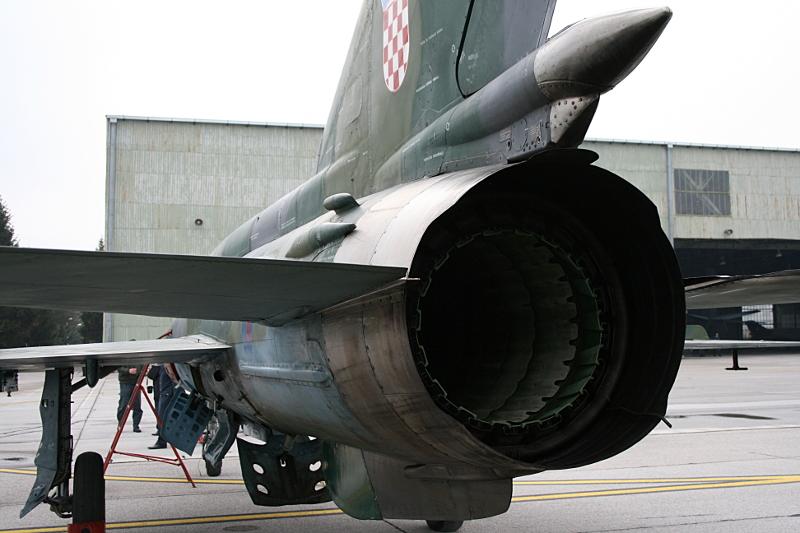 Сопло двигателя МиГ-21
