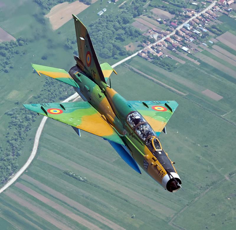 МиГ-21УМ ВВС Болгарии