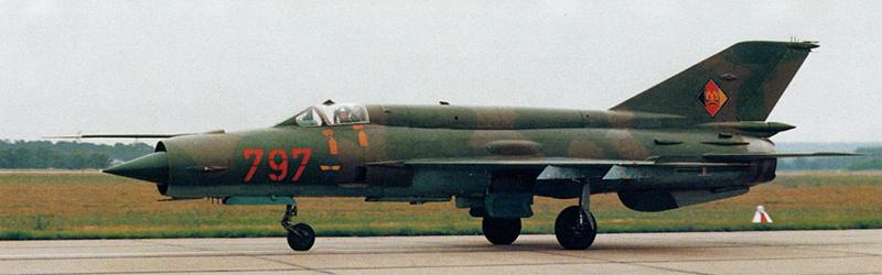 МиГ-21бис ВВС ГДР