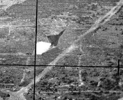 Египетский МиГ-21 сбивает израильский истребитель Mirage III
