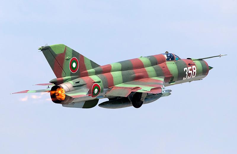 МиГ-21бис ВВС Болгарии